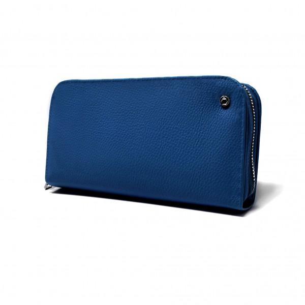 Hochwertige Diabetikertasche COMBI Blau (COVER & INLAY) - inkl. Gurt und CoolPack