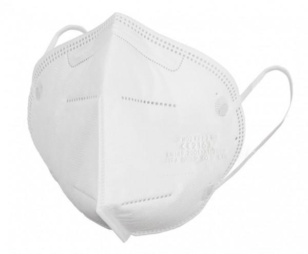 20 x FFP2 Atemschutzmaske zertifiziert nach FFP2-Norm (gefaltet, Modell JFM02)
